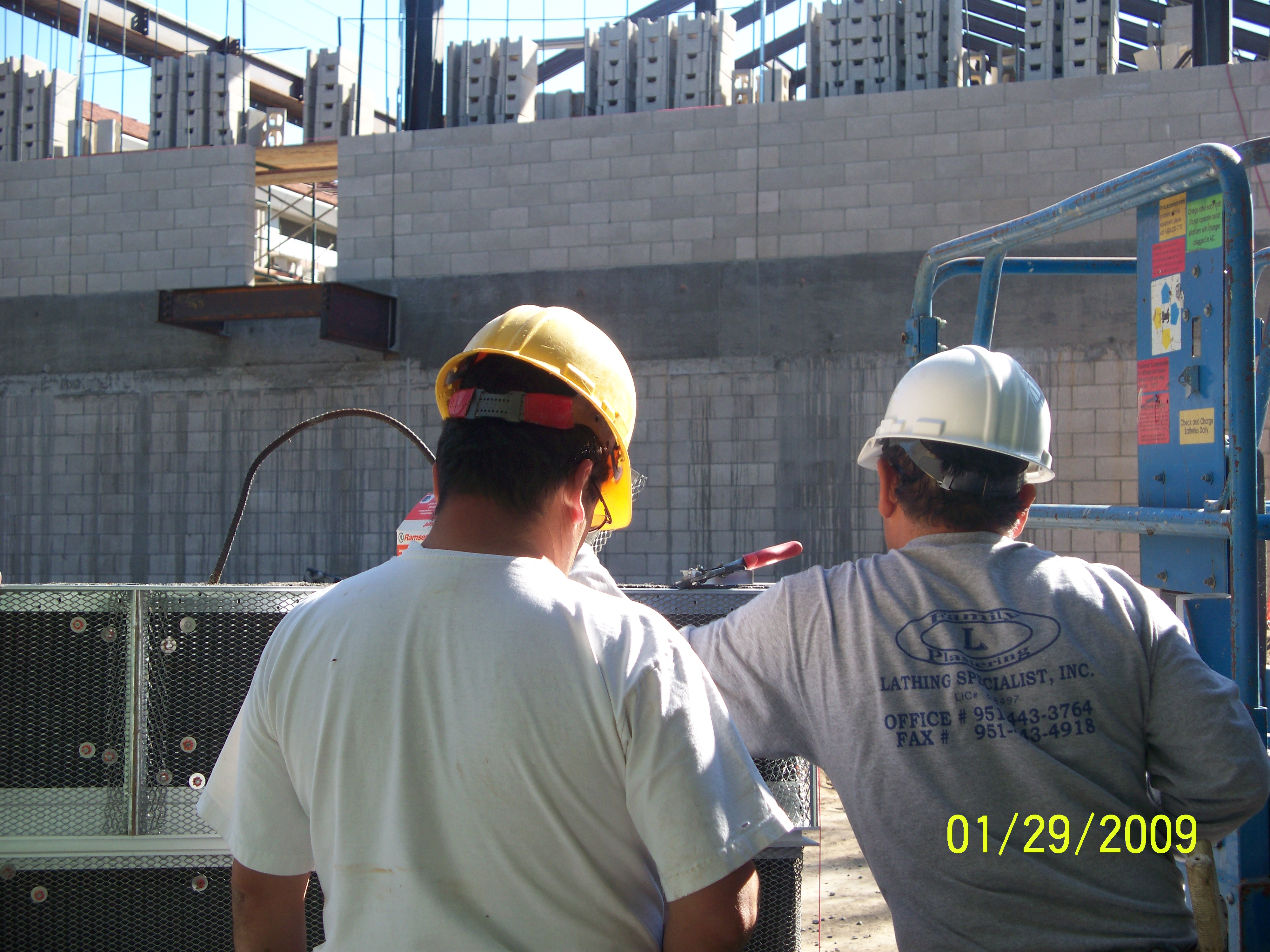 Construction of an addition to Richard Nixon Library in Yorba Linda, CA