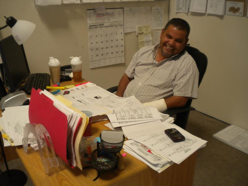 Martin Lopez, President and CEO of Family L Plastering Lathing Specialist Inc.